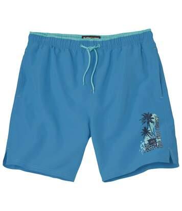 Atlas for Men Men's Pacific Surf Swim Shorts - Blue  - BLUE - Size: 3XL
