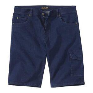 Atlas for Men Men's Dark Blue Stretch Denim Shorts  - RAW - Size: W48