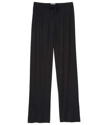 Atlas for Men Women's Black Casual Trousers  - BLACK - Size: 16-18