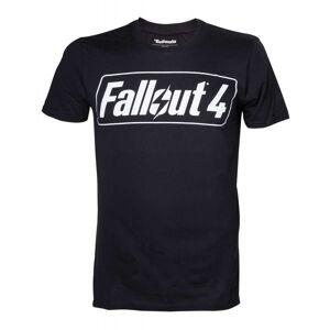 Gamer Merchandise UK Fallout 4: Black Logo T-Shirt (S)