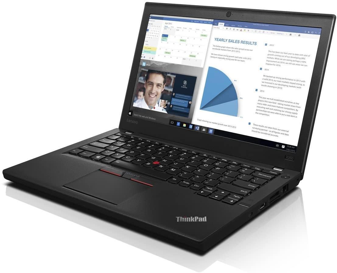 Lenovo Laptop Lenovo Thinkpad X260 Laptop 6th Gen i5 8GB 128GB SSD Win10 AZERTY