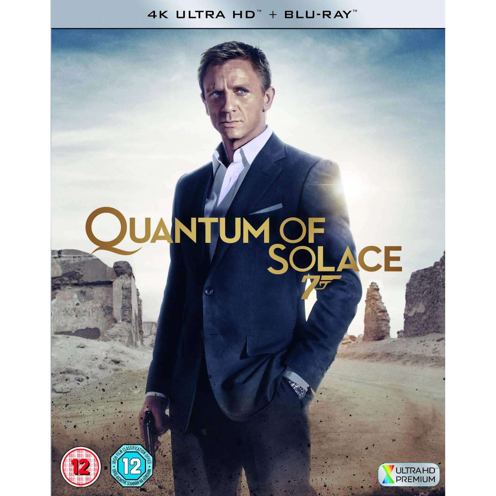 20th Century Fox Quantum of Solace - 4K Ultra HD (Includes 2D Blu-ray)