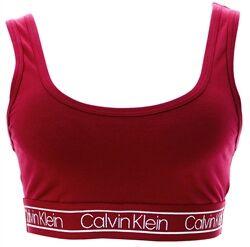 Calvin Klein Beet Red Reversible Bralette - Modern Flx  - Size: Small