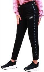 Puma Black Amplified Women's Sweatpants  - Size: Large