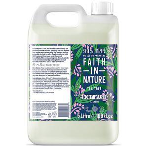 Faith in Nature Tea Tree Body Wash - 5L