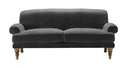 Saturday 2.5 Seat Sofa in Armour Smart Velvet