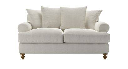 Teddy 2 Seat Sofa Bed in Clay House Basket Weave