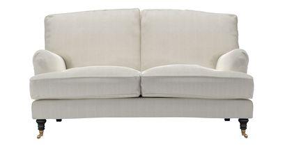 Bluebell 2 Seat Sofa in Clay House Herringbone Weave