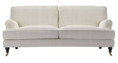 Bluebell 3 Seat Sofa (breaks down) in Clay House Basket Weave