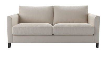 Izzy 2.5 Seat Sofa in Taupe Brushed Linen Cotton