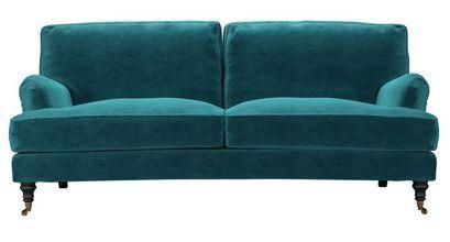 Bluebell 3 Seat Sofa in Neptune Smart Velvet