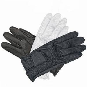 Mark Todd Children's Leather Riding Gloves Colour Brown Size 7-9 years