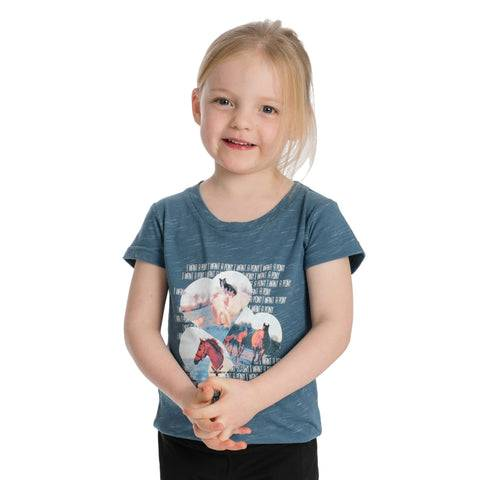 Horseware Children's Novelty Tee Colour Rose Size 7 - 8 Years