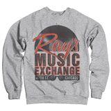 GeekGear Ray's Music Exchange - Blues Brothers Sweatshirt White Medium
