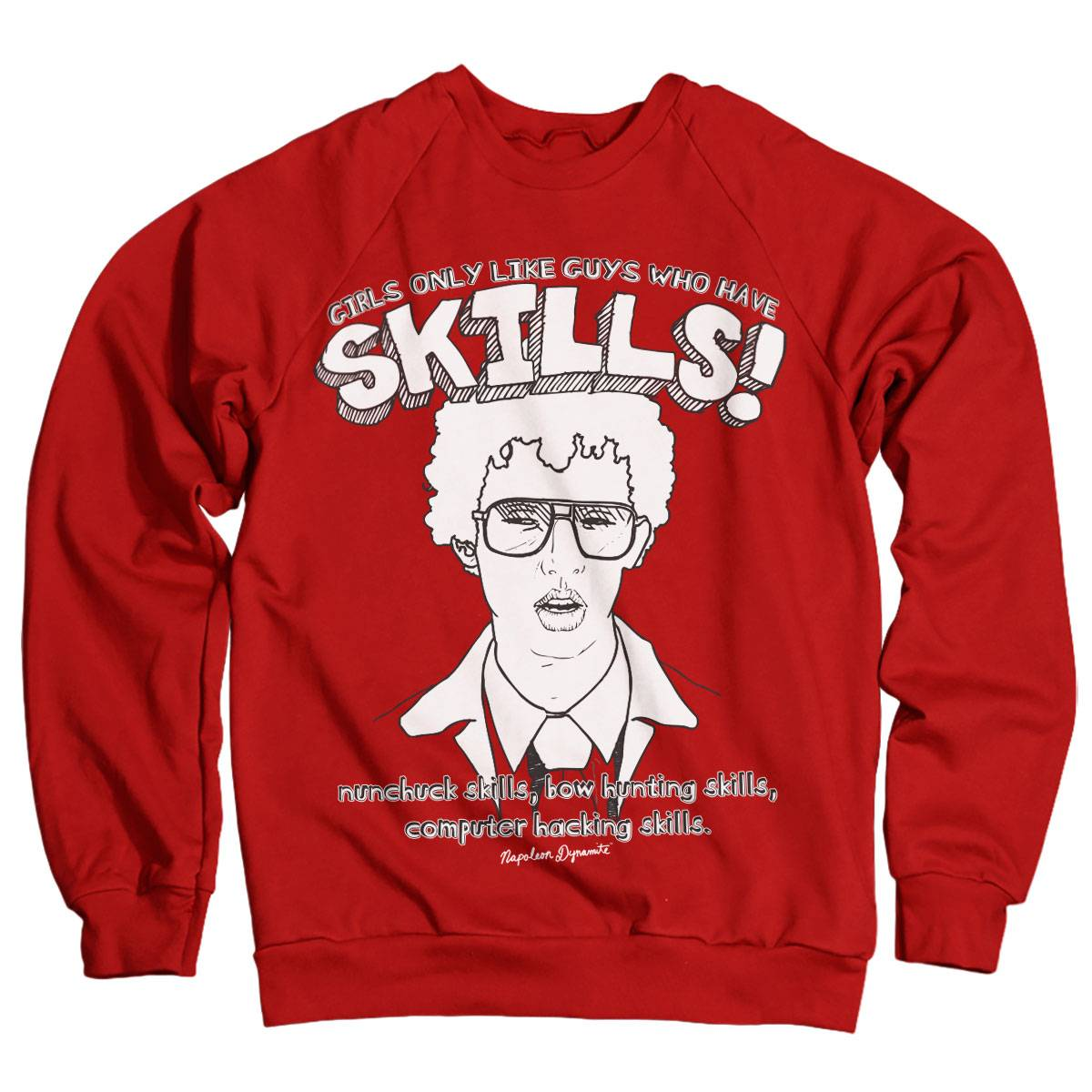 GeekGear Napoleon Dynamite - Skills Sweatshirt Green XX-Large