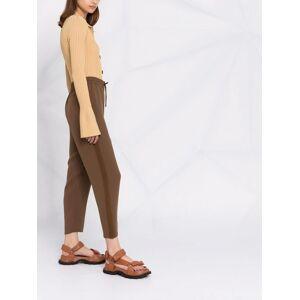Theory drawstring-waist track pants - Brown -Female