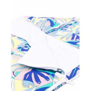 Emilio Pucci Junior Samoa print sleeping bag - Blue -Unisex