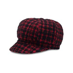 Dolce & Gabbana tweed baker boy cap - Black -Female