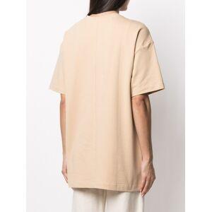 12 STOREEZ Extended oversized T-shirt - Neutrals -Female