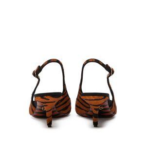 Dolce & Gabbana tiger-print slingback pumps - Brown -Female
