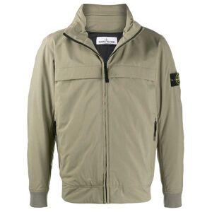 Stone Island zip-up hooded jacket - Green -Male