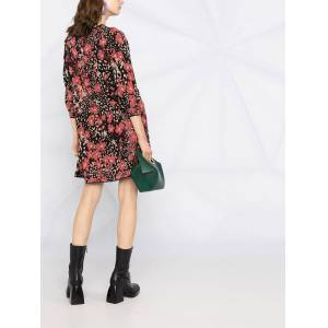 TWINSET floral-print shift dress - Black -Female