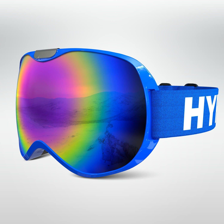 CoolSnow - Norway HypeSnow Blue Ski Goggles Midsize