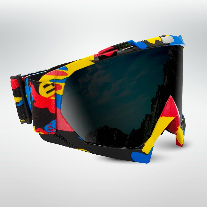 CoolSnow.dk - Populrt udstyr og skibriller til din skiferie! FLAKE Speedy Camo Ski Goggles
