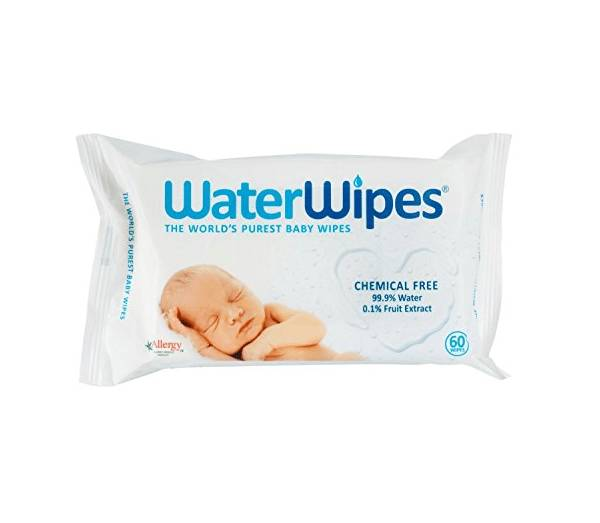 WaterWipes Sensitive Baby Wipes - 60 Wipes Baby & Toddler