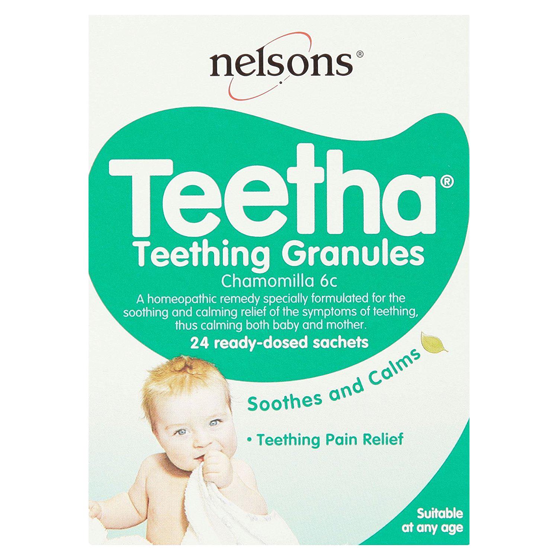 Nelsons Teetha Teething Granules - 24 Sachets Baby & Toddler