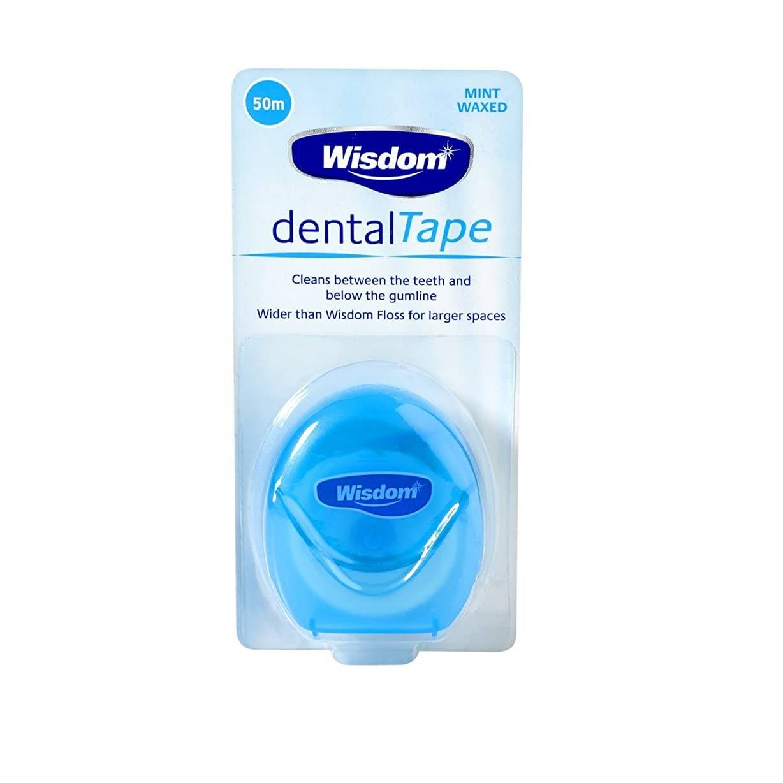 Wisdom Dental Tape - 50m Dental Floss