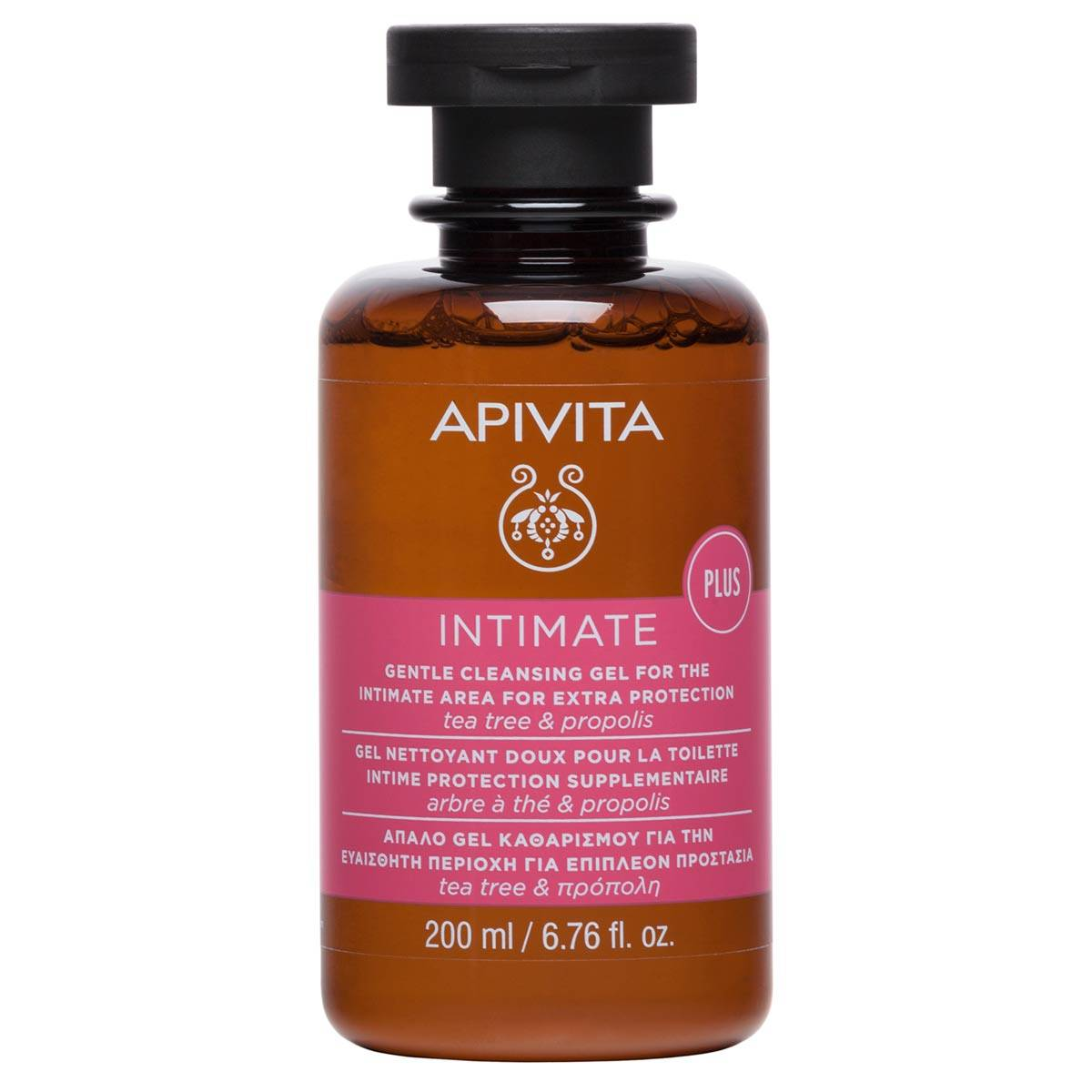 Apivita Gentle Cleansing Gel For Intimate Area Extra Protection 200Ml