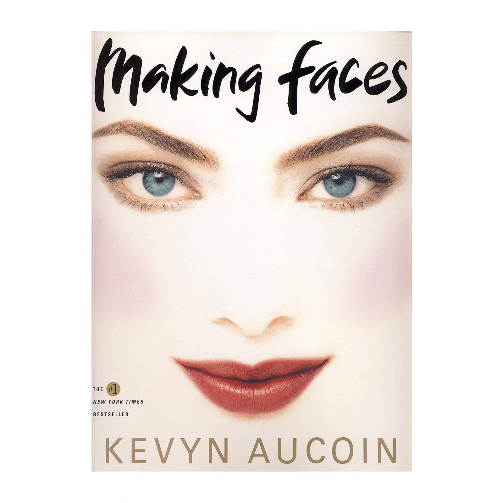 Kevyn Aucoin Making Faces Soft Cover Book