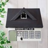 Hello Of Mayfair Personalised Golf Club Bird Box Black,Green,White
