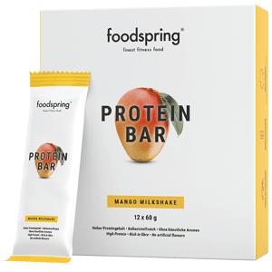 foodspring Mango Milkshake Protein Bar 12-pack