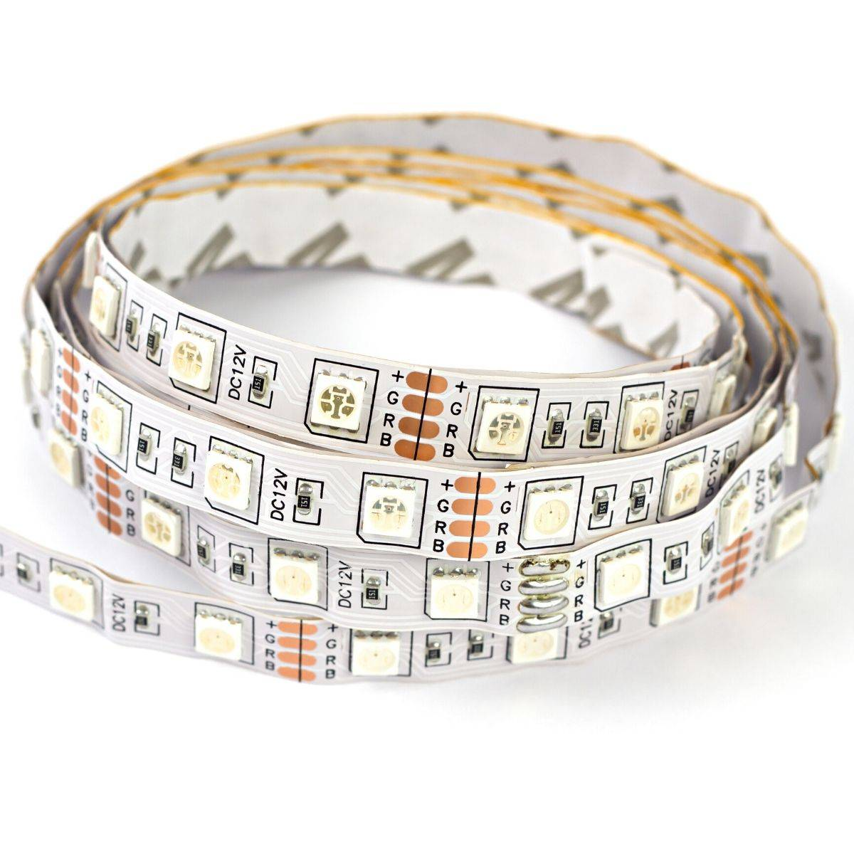 Simple Lighting RGB LED Tape, Colour Changing 30 LEDs - 7.2w