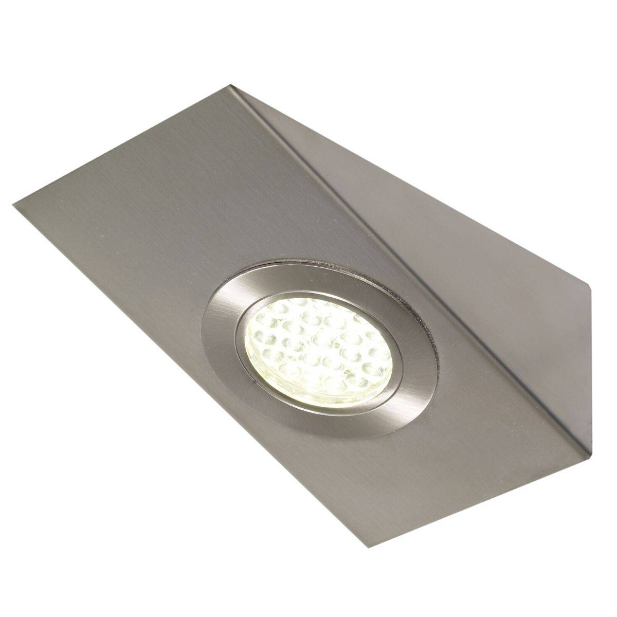 Simple Lighting 1.8w LED Wedge Shaped Under-Cabinet Light - Cool White or Warm White