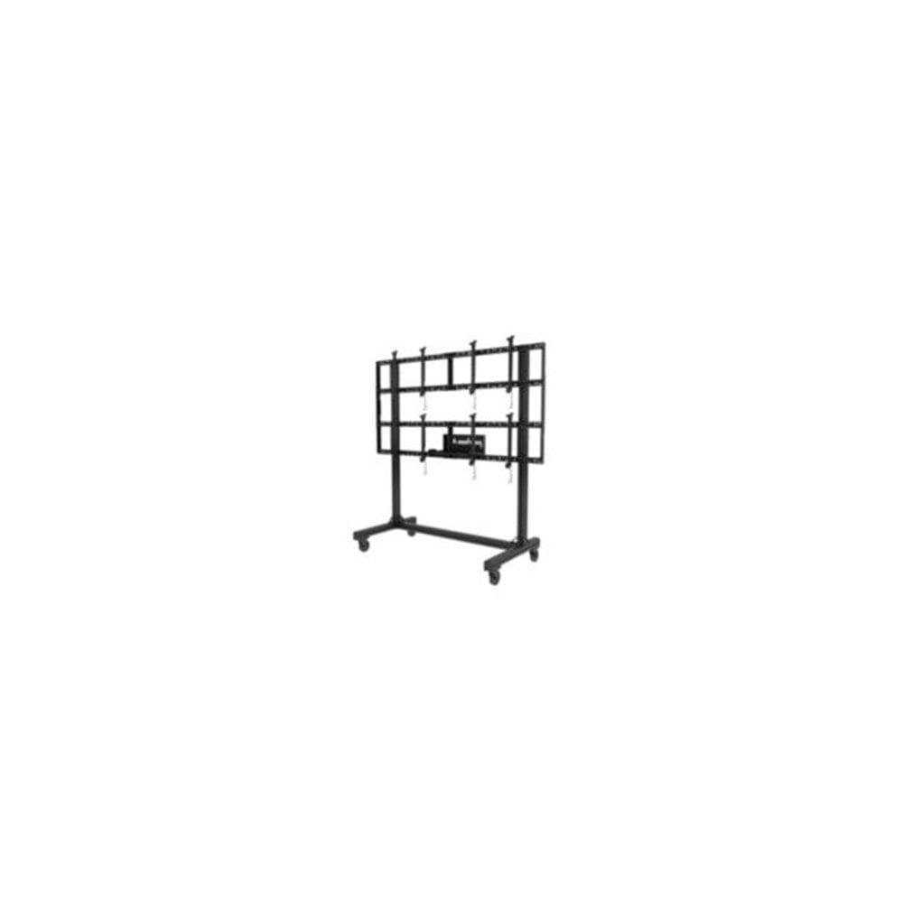 Peerless DS-C560-2X2 PC Multimedia cart Black multimedia cart/stand