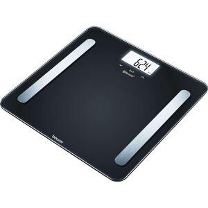 BEURER BF 600 Bathroom Scales - Pure Black, Black
