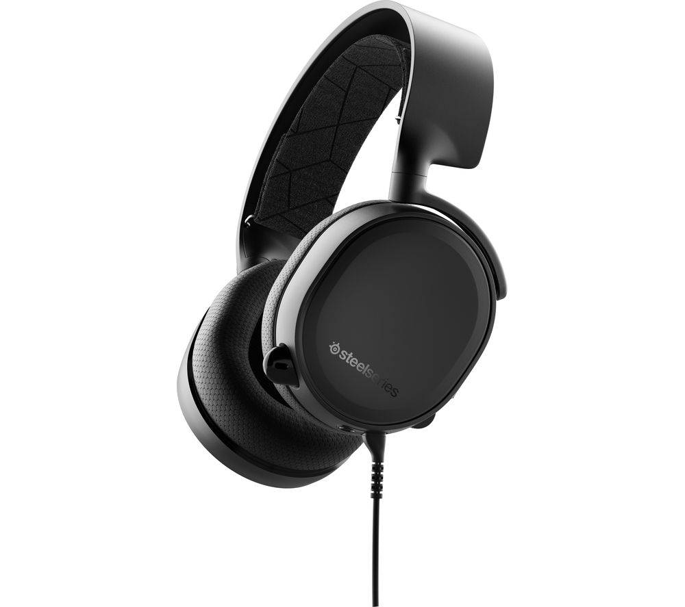 STEELSERIES Arctis 3 Console Edition 7.1 Gaming Headset - Black, Black