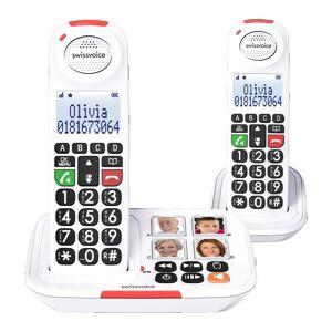 SWISSVOICE Xtra 2155 Duo ATL1420289 Cordless Phone - Twin Handsets