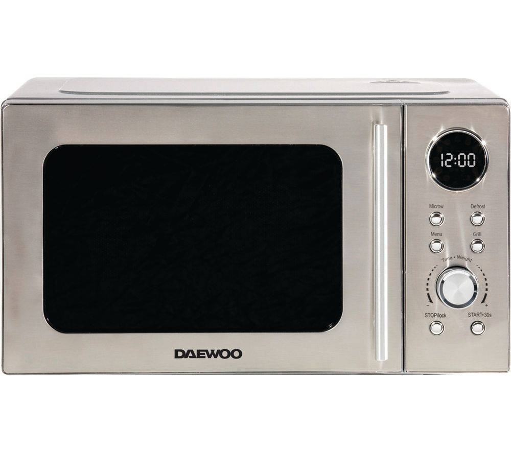DAEWOO SDA2071 Microwave with Grill - Silver, Silver