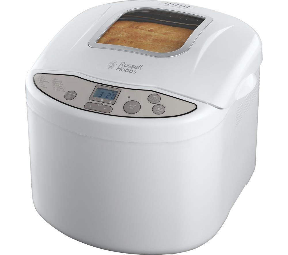 RUSSELL HOBBS Fast Bake 18036 Breadmaker - White, White