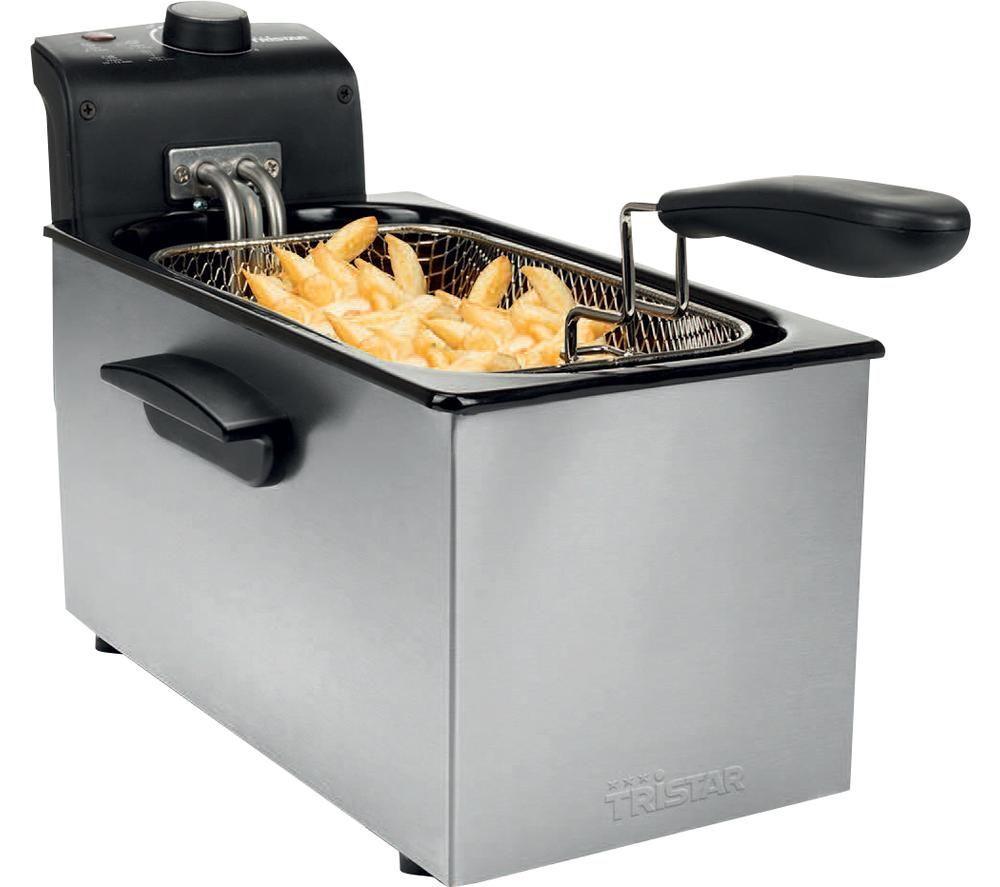 TRISTAR FR-6946 Deep Fryer - Silver, Silver