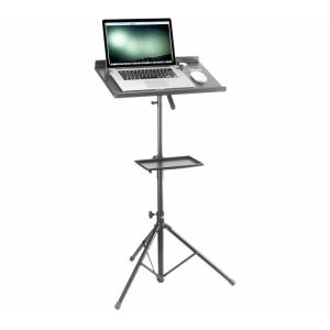 STAGG Laptop Stand with Accessory Table