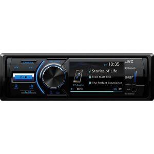 JVC KD-X561DBT Smart Bluetooth Car Radio - Black, Black