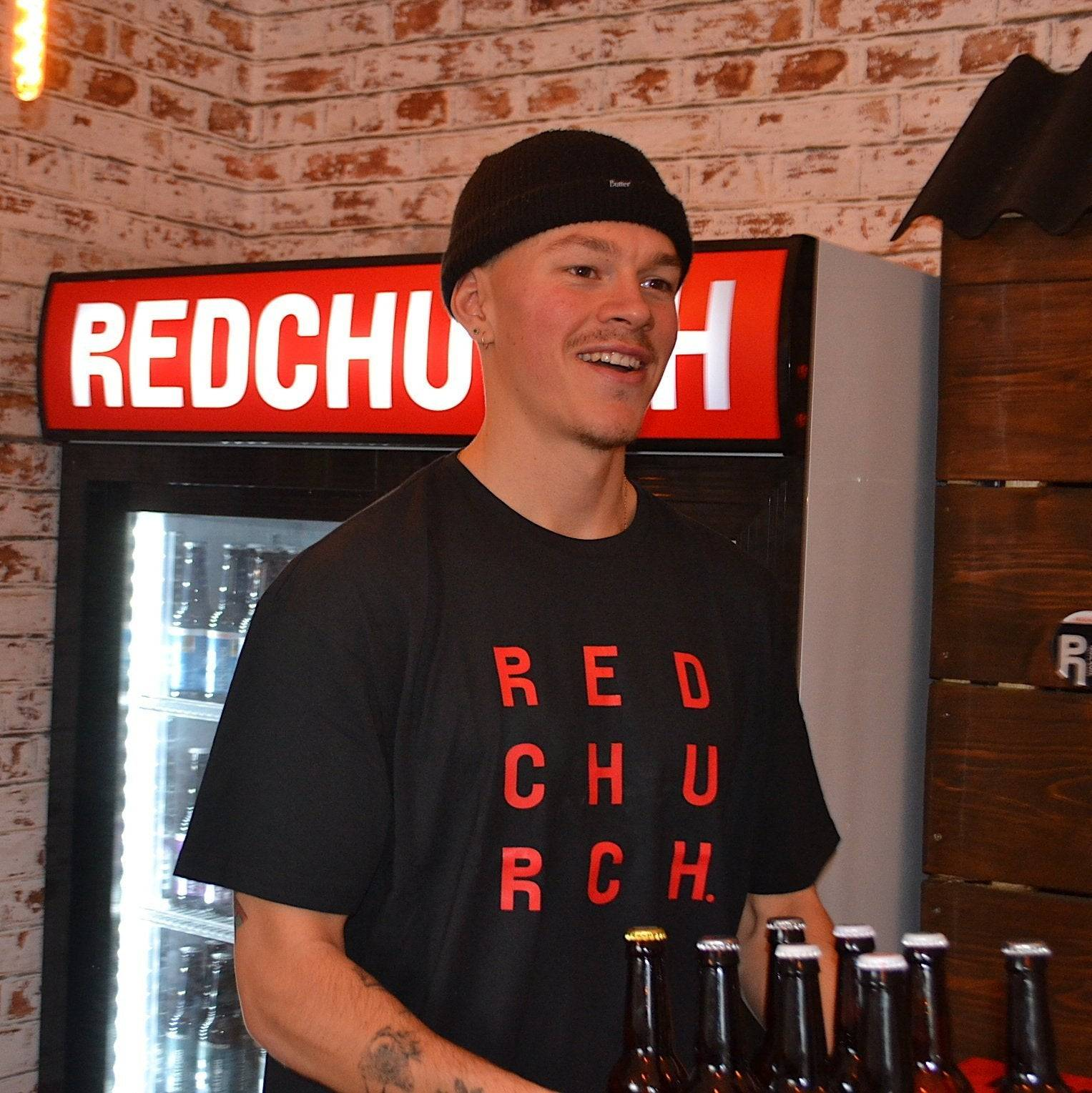 Redchurch Brewery Redchurch 9 Letter T-Shirt - Small  38-40