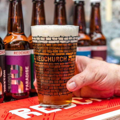 Redchurch Brewery Redchurch Beer Glass - Pint size