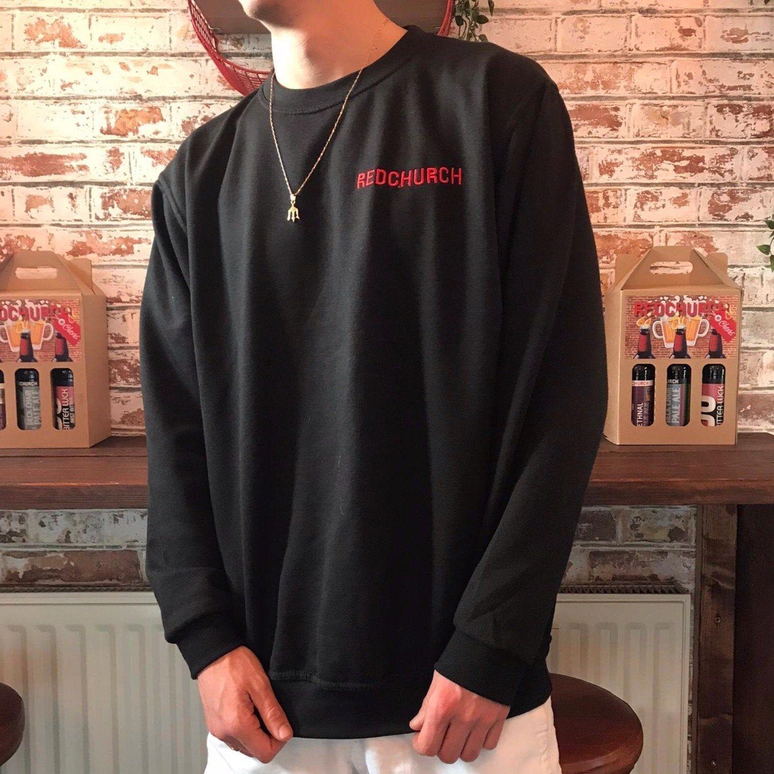 Redchurch Brewery Redchurch Embroidered Sweat Shirt - Medium  40-42