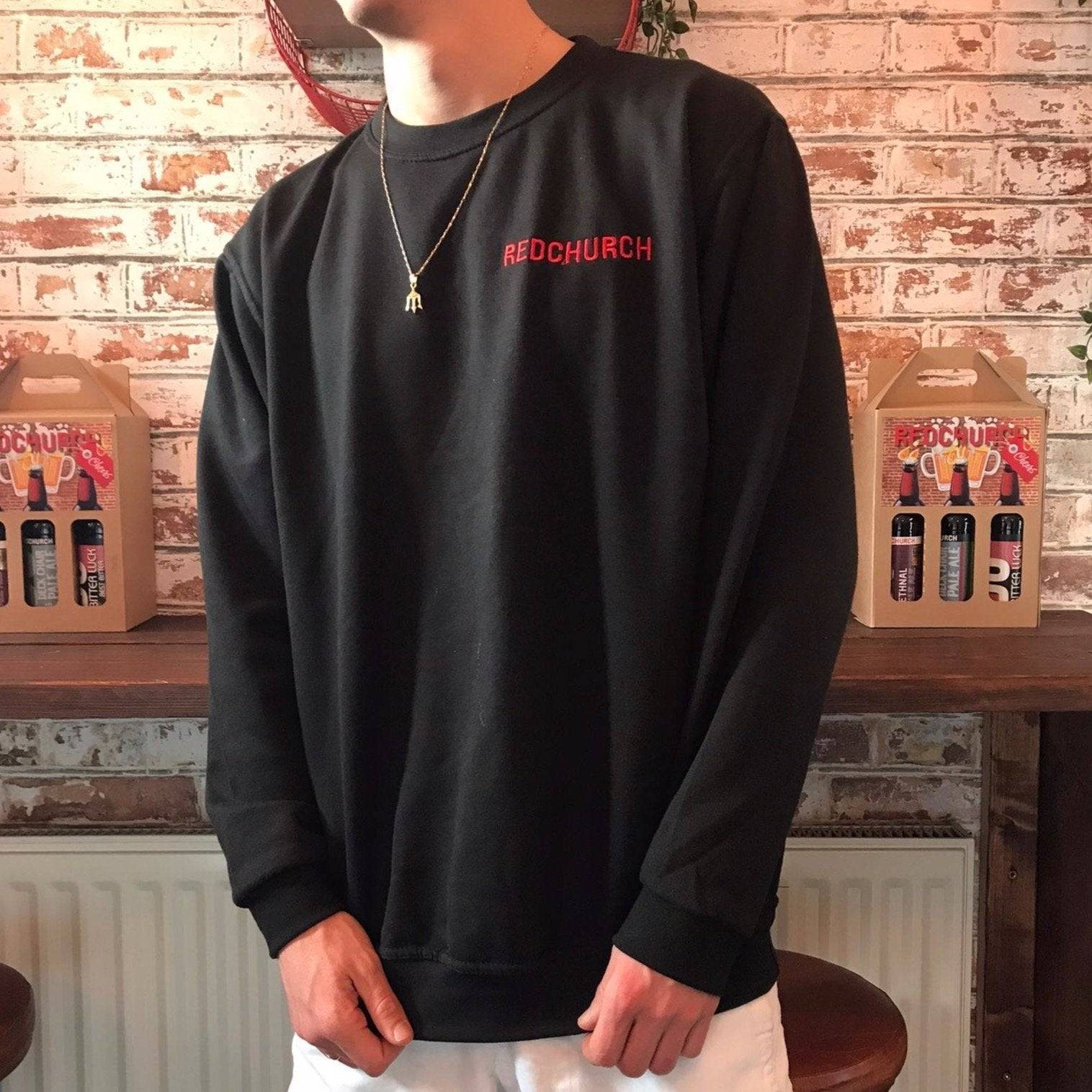 Redchurch Brewery Redchurch Embroidered Sweat Shirt - Large  42-44